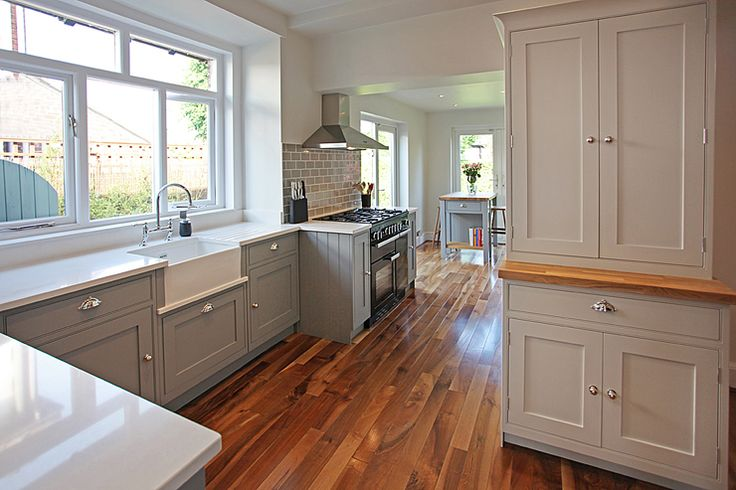 hand painted kitchen - Farrow and ball
