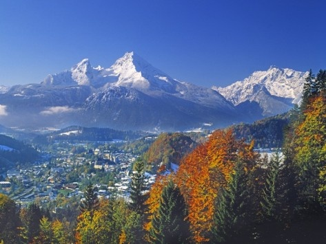 Berchtesgaden and Mount Watzmann Germany: Monumental Mountains, Beautiful Germany, Beautiful Places, Travels Destinations, Mountain Fever