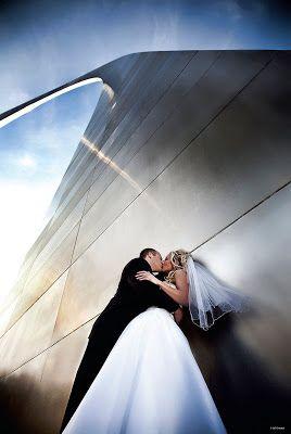 wedding st louis arch