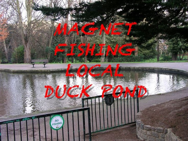 MAGNET FISHING EXCELLENT ADVENTURE ON DUCK POND #130...