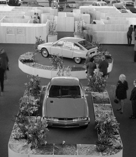 Salon de l'auto, Paris 1970