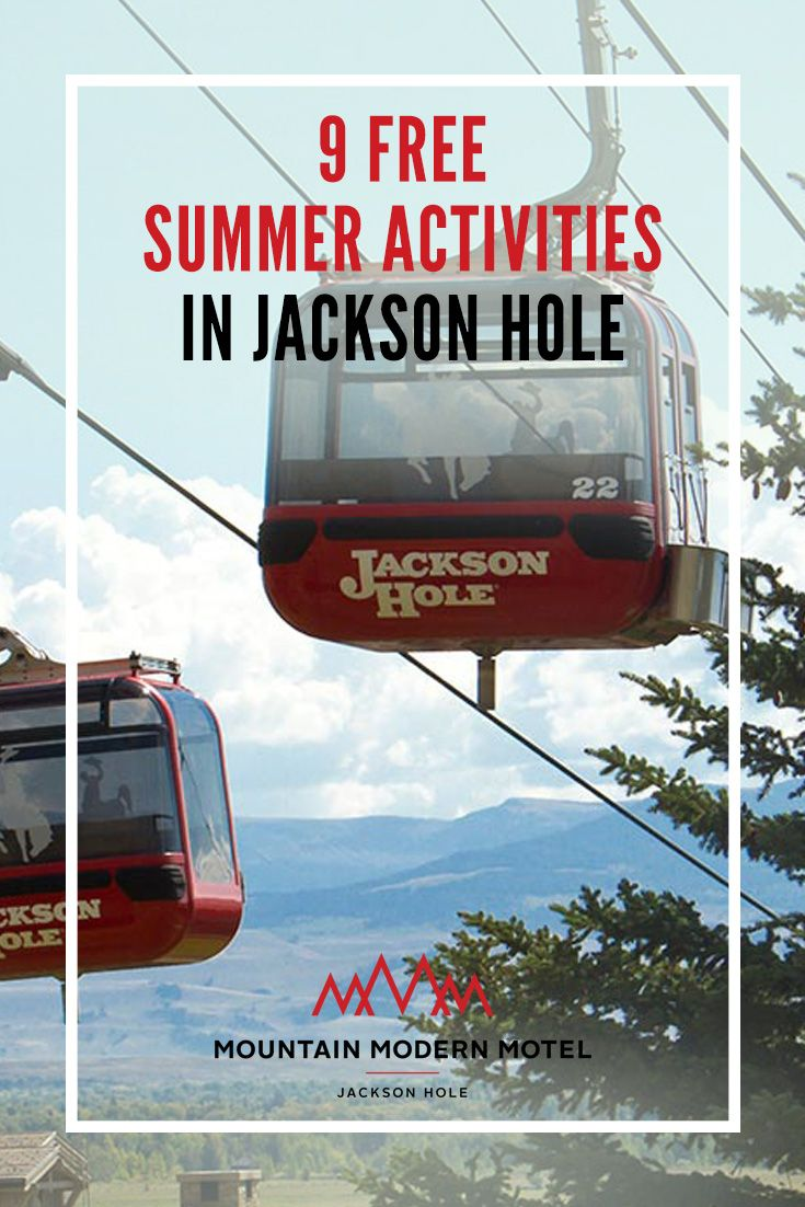 Pretty much the only thing that makes summer events in Jackson Hole any better i…