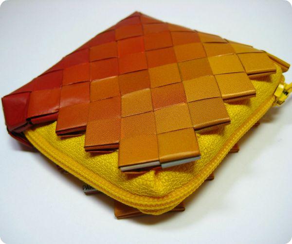 #candywrapper #ombre #orange #diy #handmade #patrirocks