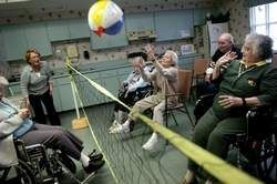 I want to be an activities coordinator at a nursing home when I graduate. I love working with the elderly, so I hope that I will graduate with a TR major with a Gerontology minor or emphasis. And how fun does this look?!