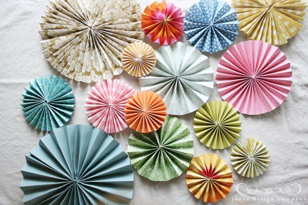 how to make pleated medallions