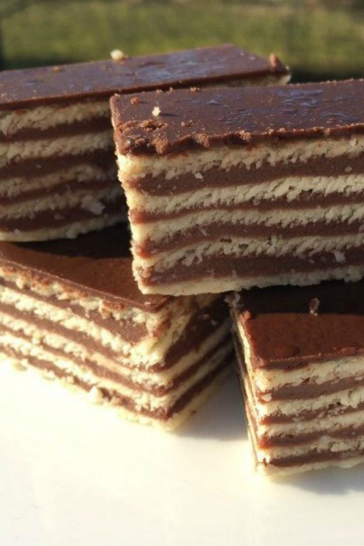 Croatia Travel Blog: Madarica (Chocolate Layered Cake). This blast from the past recipe is loaded with all the good, sweet stuff I crave from childhood. Click to find out more!
