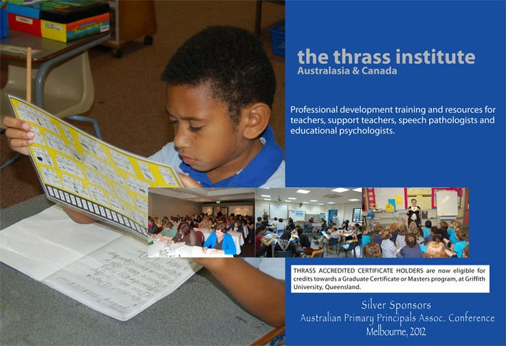 Thrass Australia: For Systematic, Explicit Phonics and Language Training.