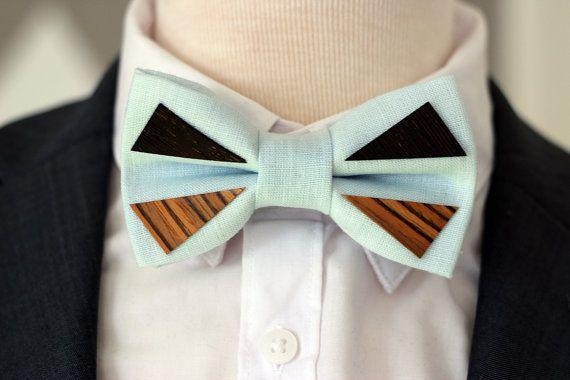 Mens wooden bowtie wooden bow tie Wooden lapel par WoodbyNevestica