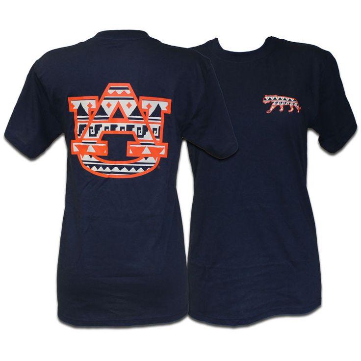 T-Shirt, Tribal Left Chest-Tiger Back-Au | Auburn University Bookstore