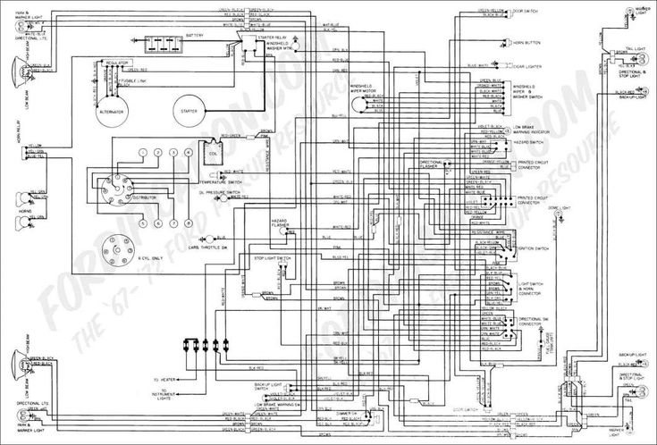 12  Electrical Wiring Diagram Ford Courier