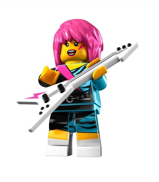 LEGO Minifigures - Series 7 - Rocker Girl