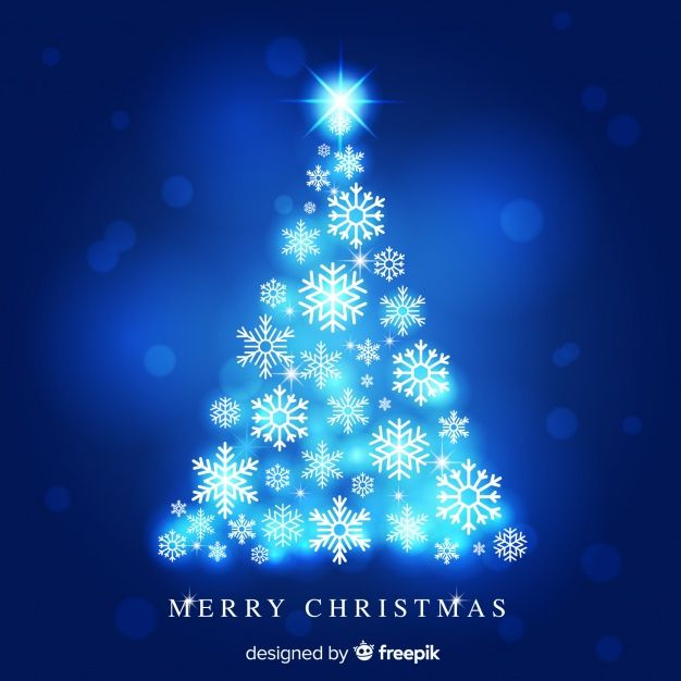 Download Christmas Tree Made Of Snowflakes For Free Christmas Images Christmas Design Christmas Vectors