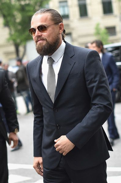 Leonardo DiCaprio Photos: Giorgio Armani 40th Anniversary - Silos Opening And Cocktail Reception - Arrivals