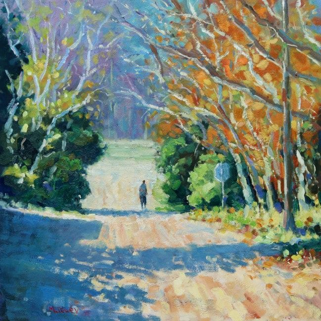 Glimpse of Autumn oil painting by Malcolm Dewey