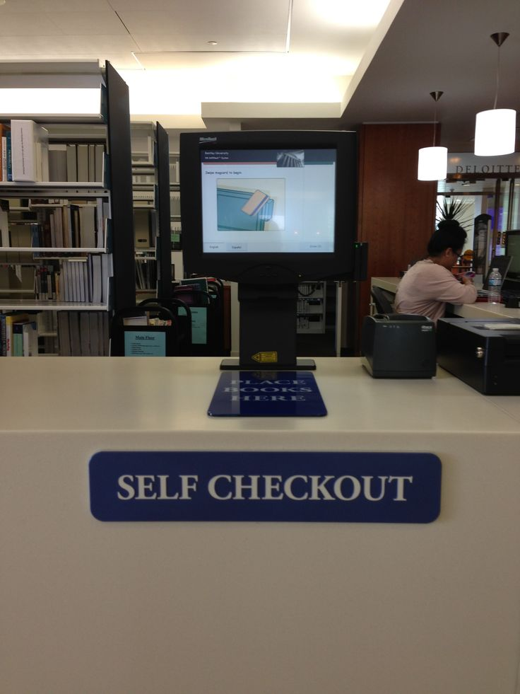Check Out These Easy Step By Step Tutorials For Halloween: The Library's Self-checkout Station Is A Quick And Easy