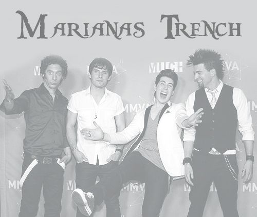 Marianas Trench! This band is so original, I love them.