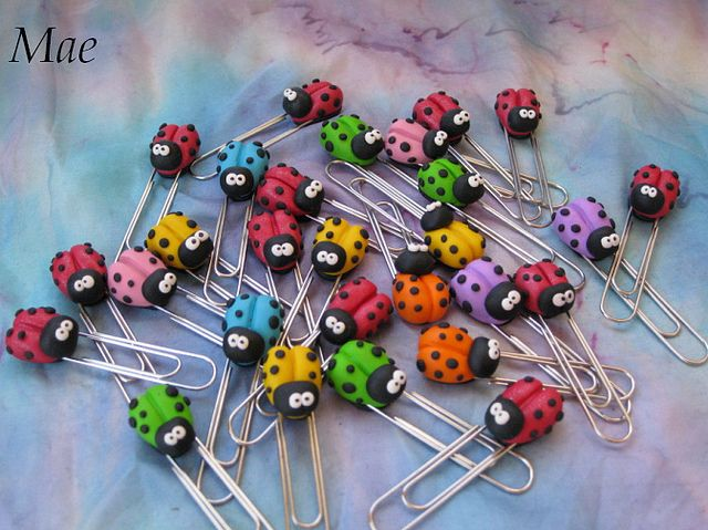 clips mariquitas de colores | Flickr - Photo Sharing!