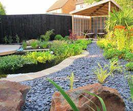 Jardin de style de style Asiatique par Katherine Roper Landscape & Garden Design
