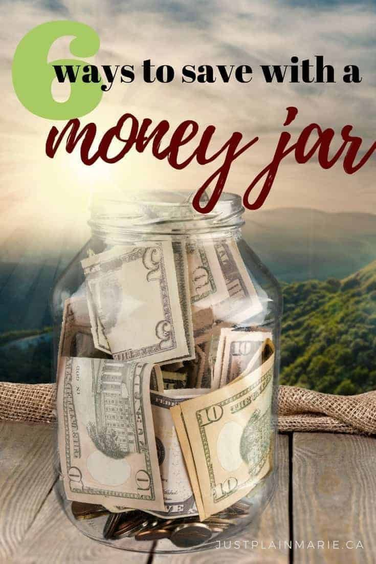 A Simple Glass Jar Can Help You Save A Lot In A Year Here Are 6 Ways To Motivate And Encourage Savings Savingmo Money Saving Jar Saving Money Jars Money Jars