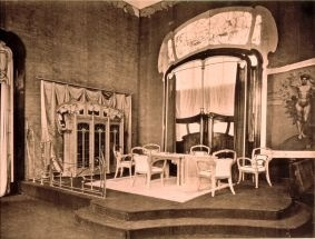 victor horta - art neauvou architect. an original image from inside his home