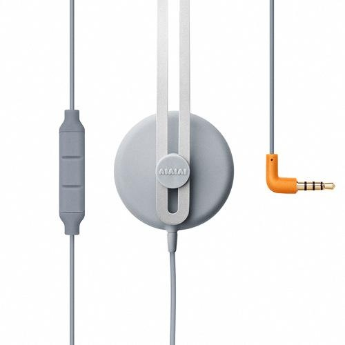 "soundful grey and orange headphones ""Tracks"" for mobile lifestyle | headphones & speakers . Kopfhörer & Lautsprecher . casque/écouteur & enceintes |  @ AiAiAi |"