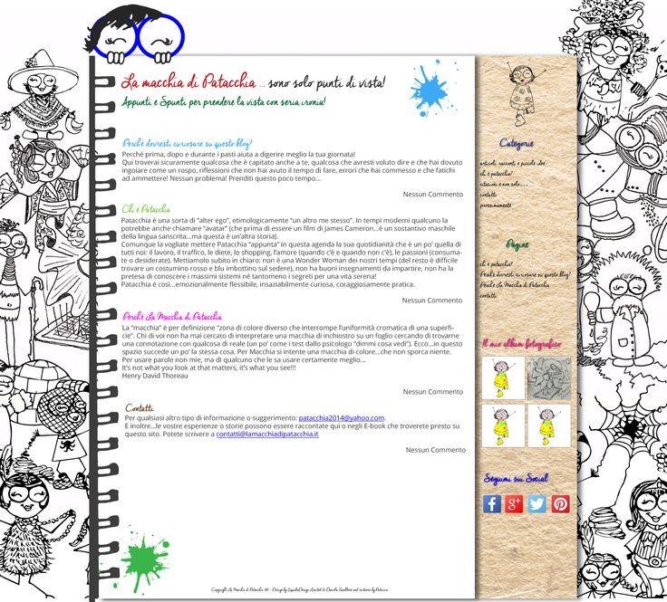 New WordPress template for La Macchia di Patacchia ( blog ). The web site will be online very soon! Skills: Illustrator, Photoshop, HTML5, CSS3, wordpress.