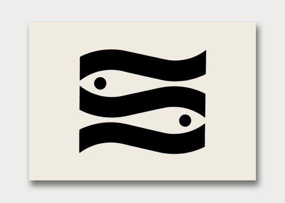 Fishing company / Designed by Claude Dieterich (Peru)  Graphis Annual 72/73  - Via Aqua Velvet