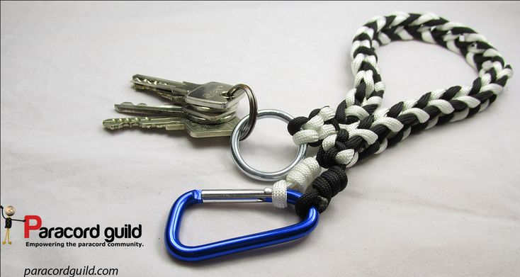 paracord key lanyard instructions