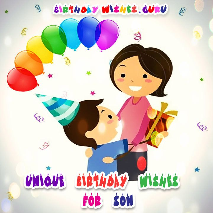 Unique Birthday Wishes for Son
