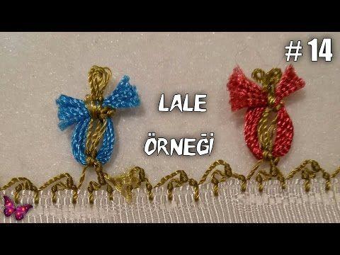 Videolu, İğne Oyası Lale Örneği Yapılışı - Mimuu.com