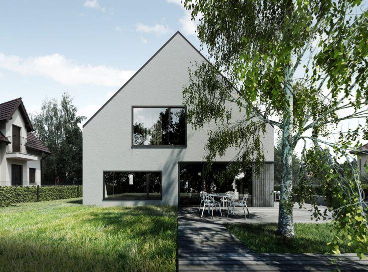 57 besten graues haus bilder auf pinterest graue h user architektur und fassaden. Black Bedroom Furniture Sets. Home Design Ideas