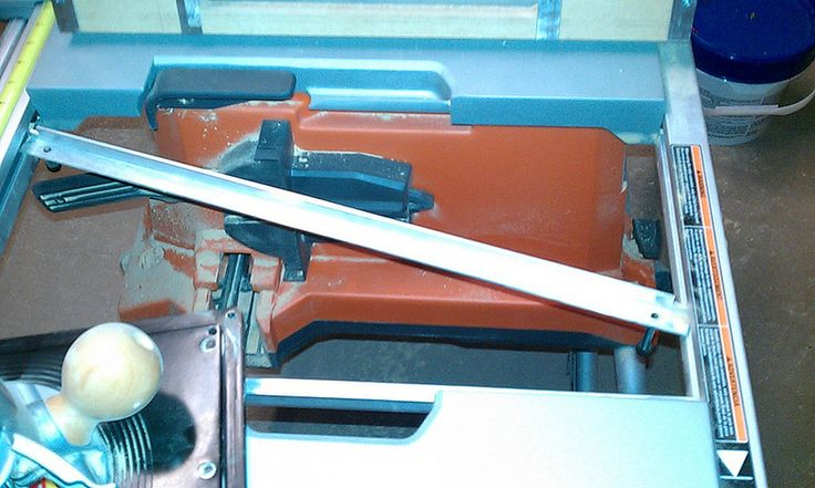 Router Table insert for R4510 Table Saw - RIDGID Plumbing, Woodworking, and Power Tool Forum