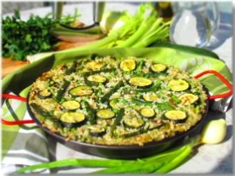 Green paella