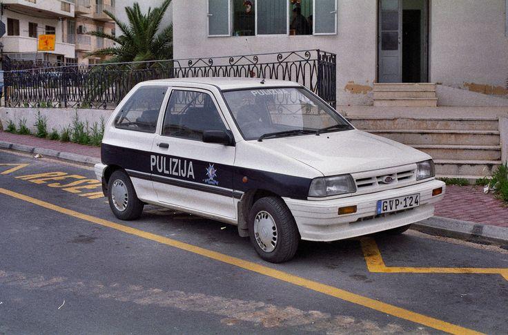 https://flic.kr/p/cWjaLm | MALTA POLICE  Kia Pride  GVP124 | Bugibba