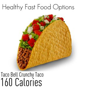 Best diet options at taco bell