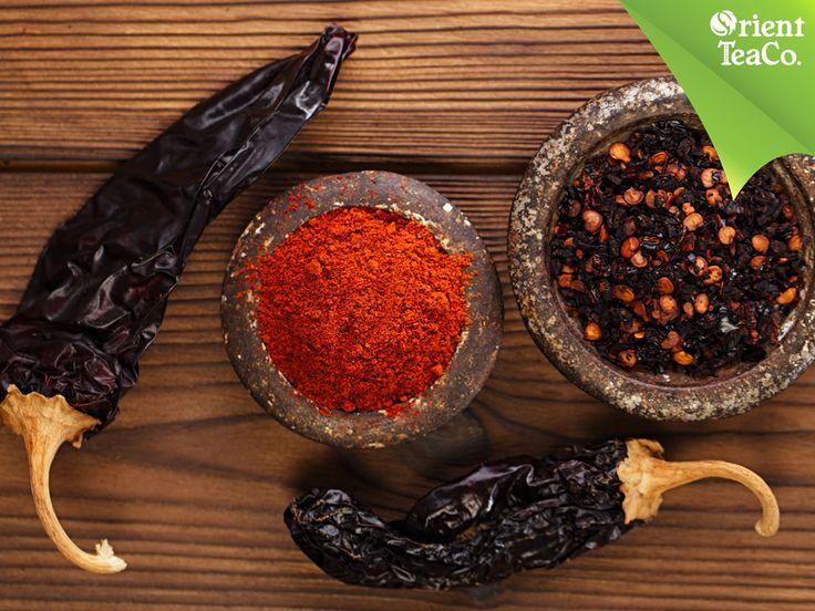 #orientemporiumtea RICO Y REFRESCANTE BIENESTAR. Un ingrediente que no puede faltar en las recetas mexicanas es el chile chipotle que además de su delicioso sabor, aporta beneficios a nuestro cuerpo, ya que reduce el colesterol en la sangre y contiene vitamina A, C, potasio y hierro. Prepara tus recetas favoritas con chile chipotle y disfruta del sabor de Orient Tea, una bebida perfecta para hidratarte de forma saludable. www.orienttea.mx