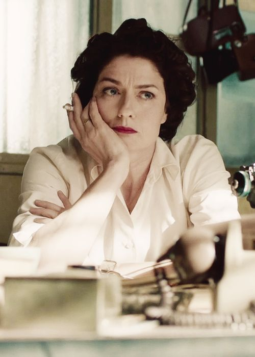 Lix Storm (Anna Chancellor in The Hour)