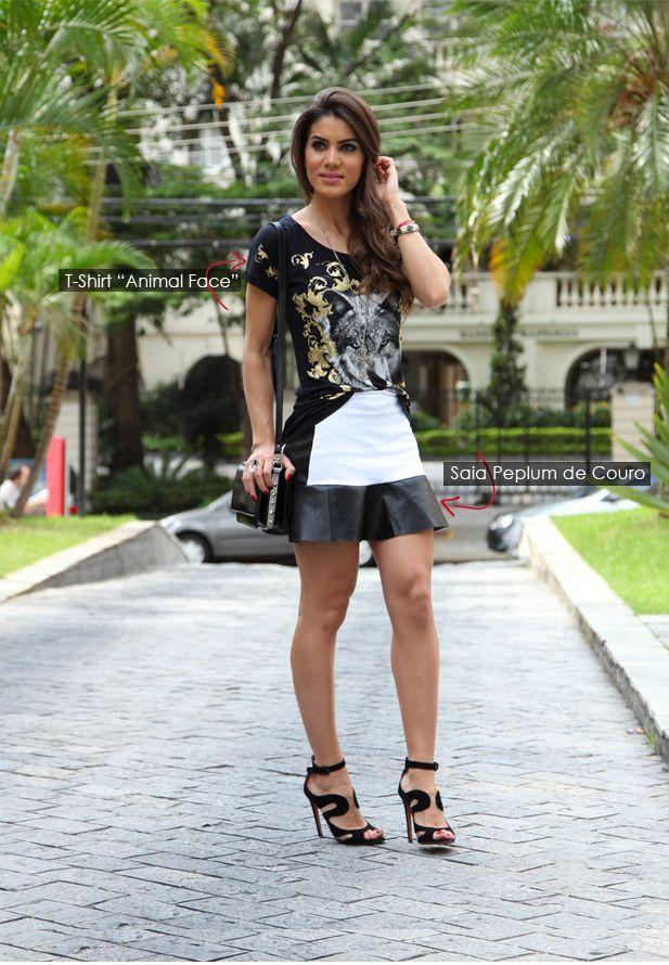 Concurso: Batalha de looks Black & White!