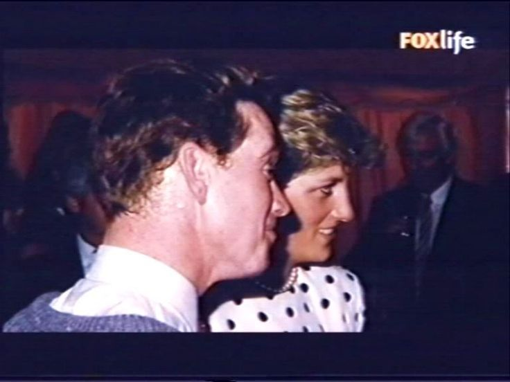 Diana & James Hewitt Wow! Not too many pics with them together.