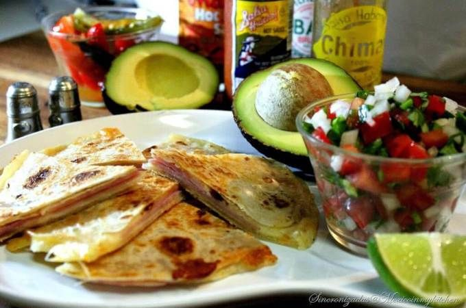 Receta Quesadillas o Sincronizadas #receta #cocina #quesadilla #saboresdemexico