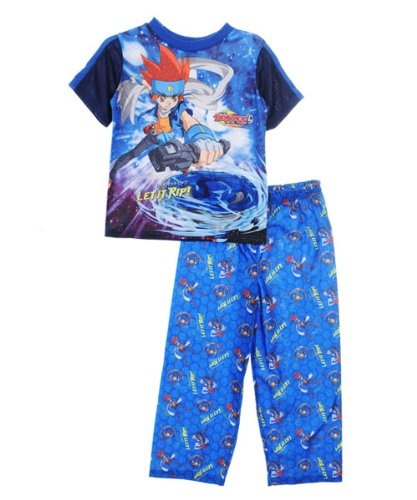 Beyblade: Metal Fusion Let It Rip 2-Piece Pajamas  Sizes 8 - 20  - navy  8From #Beyblade Price: $12.99 Availability: Usually ships in 24 hoursShips From #and sold by COOKIESKIDS