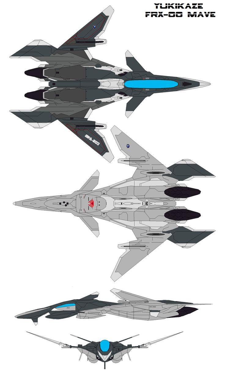 Yukikaze FFR-41MR FRX-00 Mave by bagera3005.deviantart.com on @DeviantArt