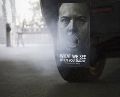 What we see when you smoke mudflaps