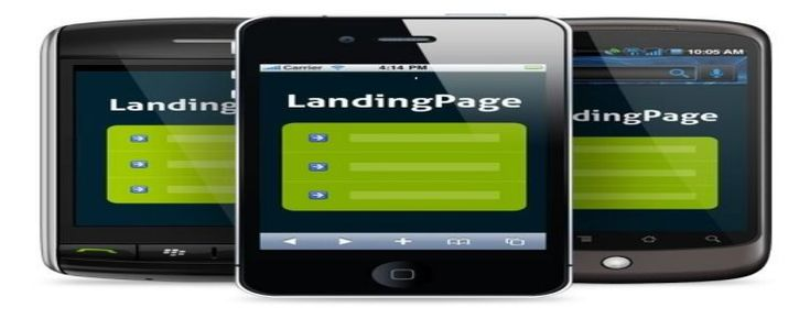 Simply in the ways to create Mobile Landing Pages