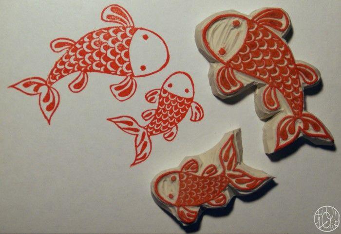 A stamp a week 18/52 - Like a fish ...