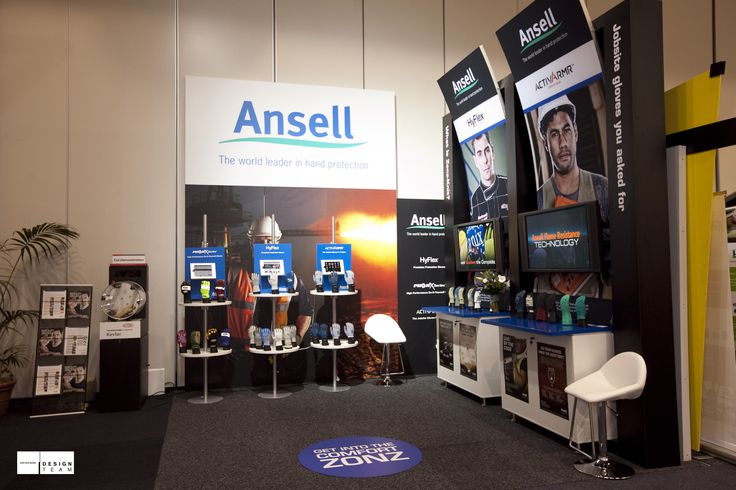 ANSELL Ansell's push into the mining industry started at the Queensland Mining Expo and continues at the Safety Show