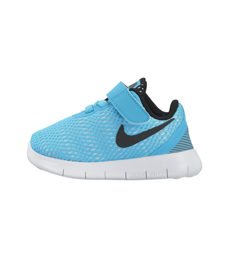 Nike Free RN TDV Toddler Gamma Blue/ Black, Kids Footwear, www.oishi