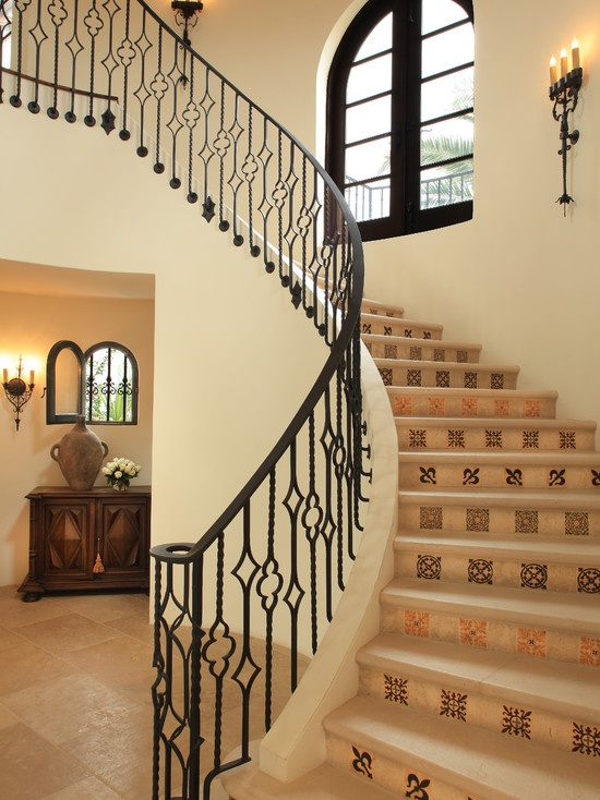 Lighter Floor Treatment Beautiful Wrought Iron With Card