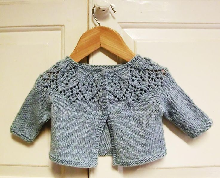 Baby cardigan, Cardigans and Knitting patterns on Pinterest