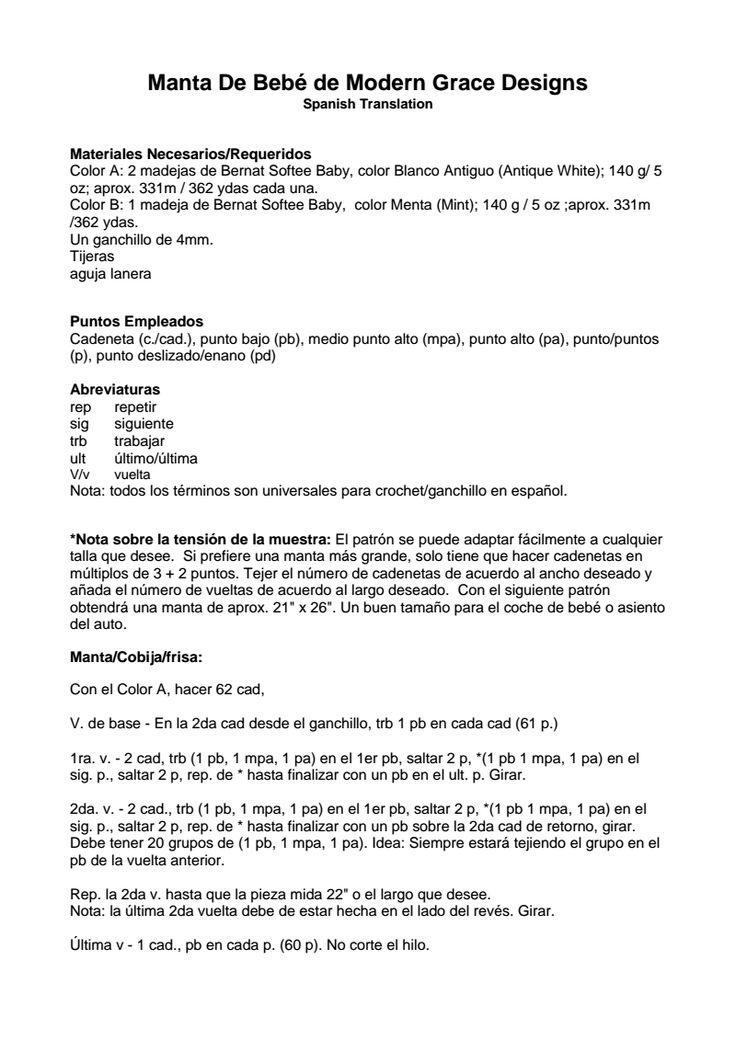 Magnífico Asiento De Coche Patrón Manta Crochet Componente - Manta ...